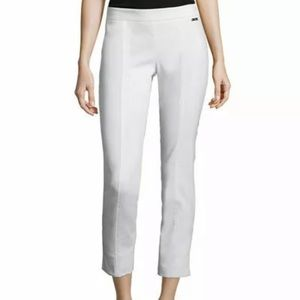 Tory Burch Callie pants ankle white size 10 *pics*